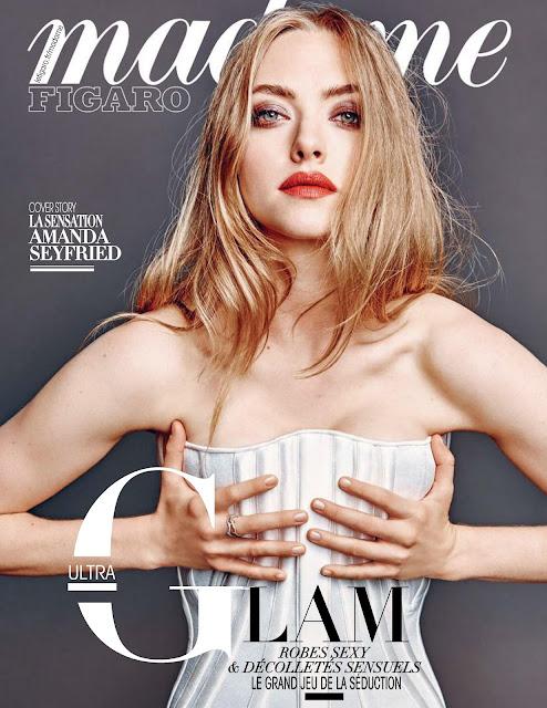 Actress, Singer, Model, @ Amanda Seyfried - Thomas Nutzl photoshoot for Madame Figaro