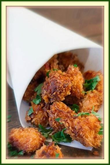 Pipoca de frango