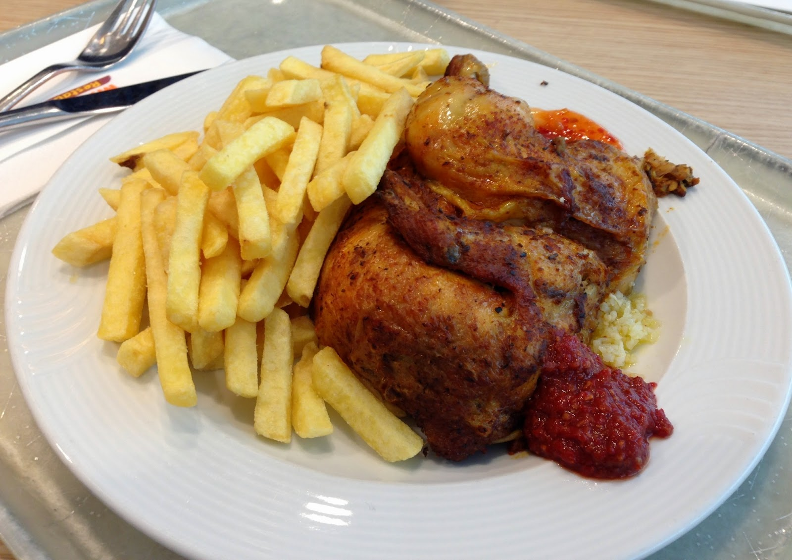 Tavuk ve patates kizartmasi tarifi — Görsel Yemek ...