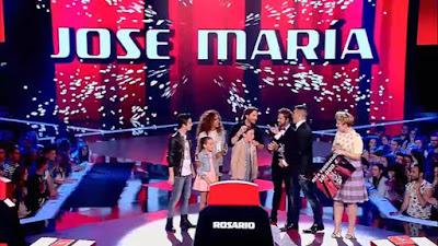 José María ganador de La Voz Kids 2015
