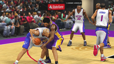 NBA 2K13 Kobe vs Vince Carter