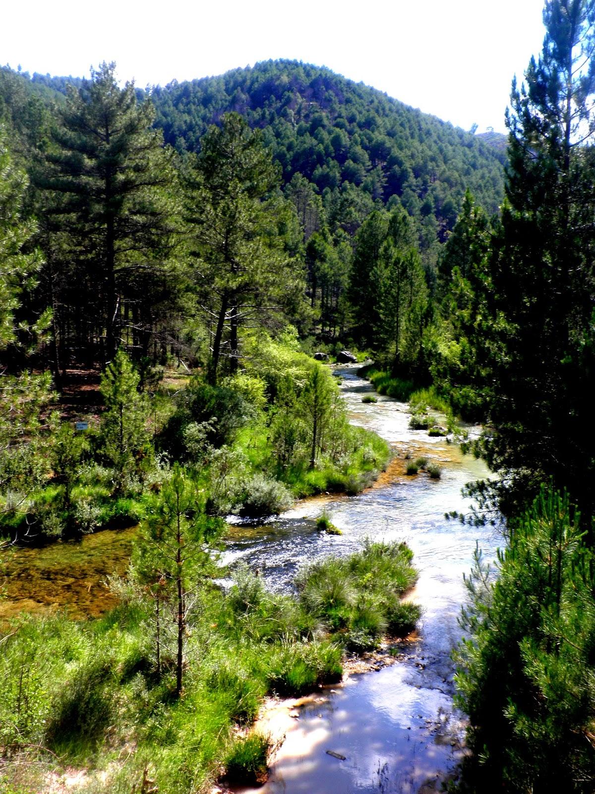 Río Escabas. Serranía de Cuenca