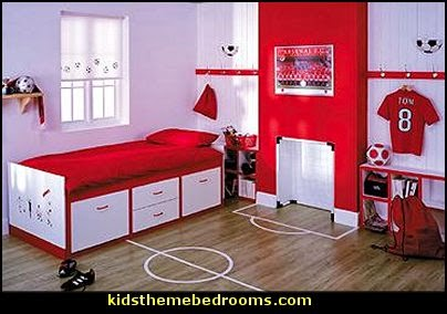 Soccer Theme Bedrooms Football Theme Bedrooms All Sports Theme Bedrooms