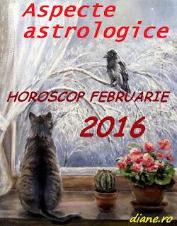 Aspecte astrologice în horoscopul februarie 2016
