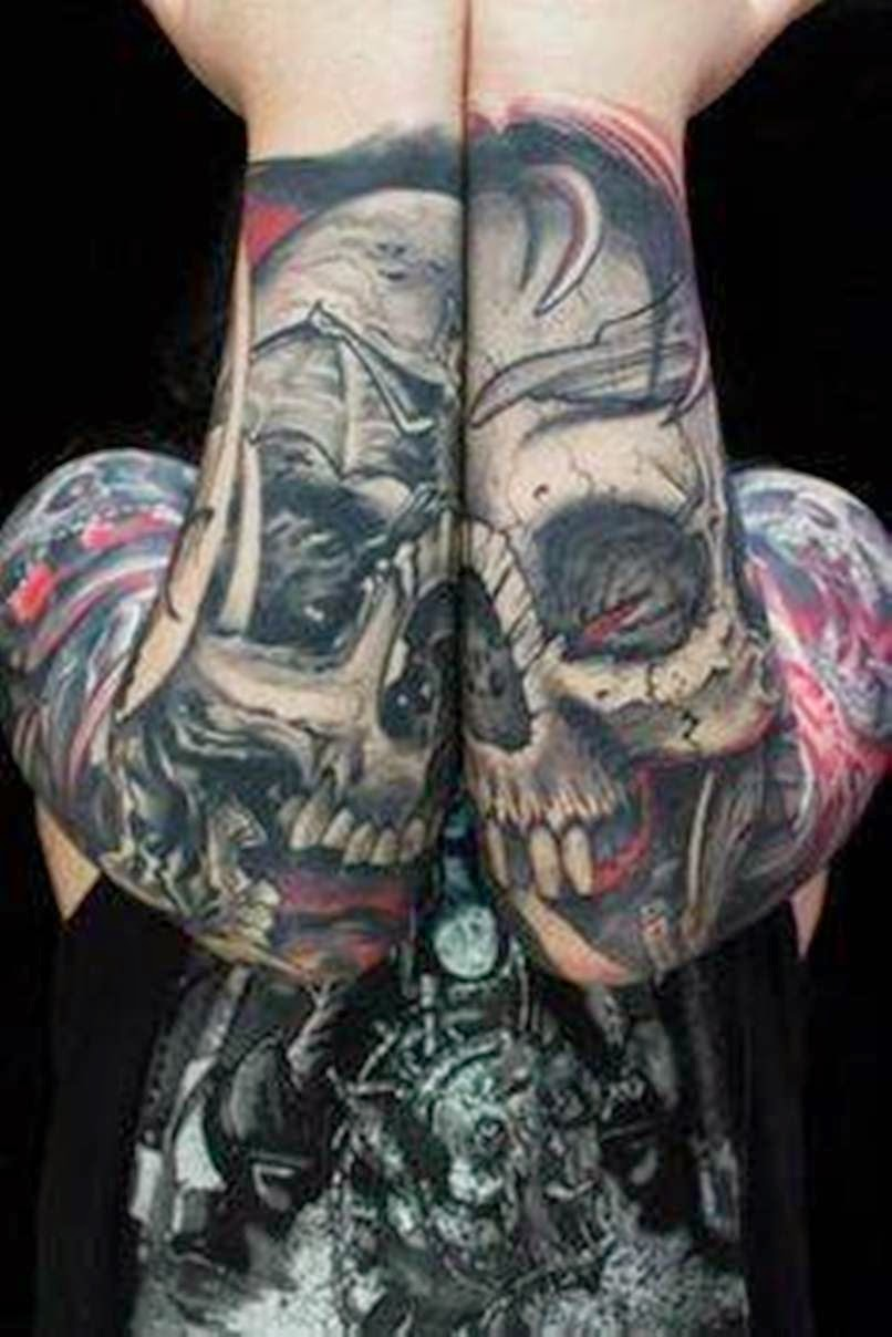 50 Full Sleeve Tattoo Designs for Men and Women