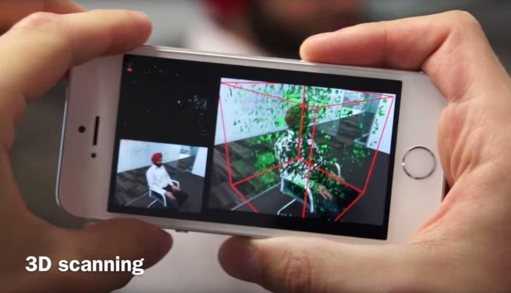 mobilefusion da microsoft transforma smartphones em scanners 3d aberto at de madrugada. Black Bedroom Furniture Sets. Home Design Ideas