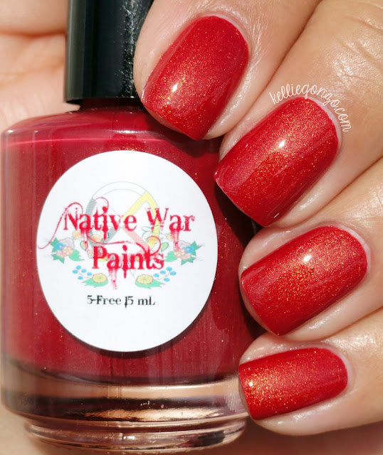 Native War Paints Holiday Sweater