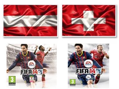 Capa austríaca e suíça de Fifa 14