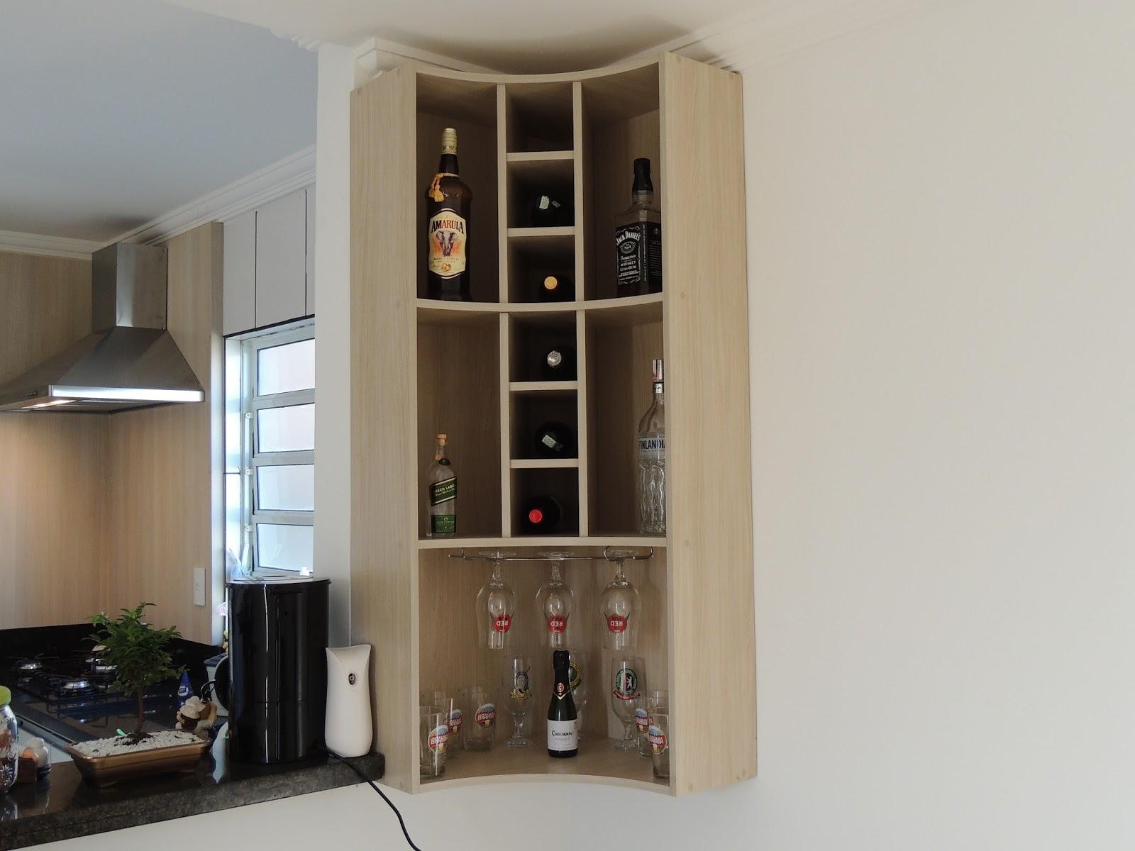 Braslib Móveis Sob Medida.: Bar em casa