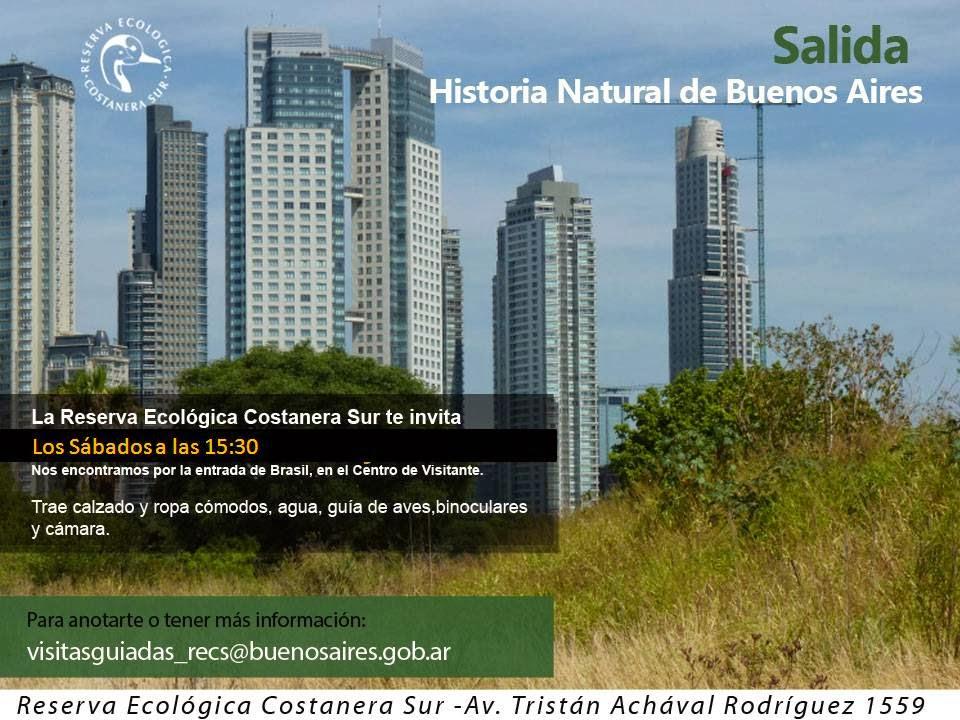 Historia Natural de Buenos Aires en la RECS