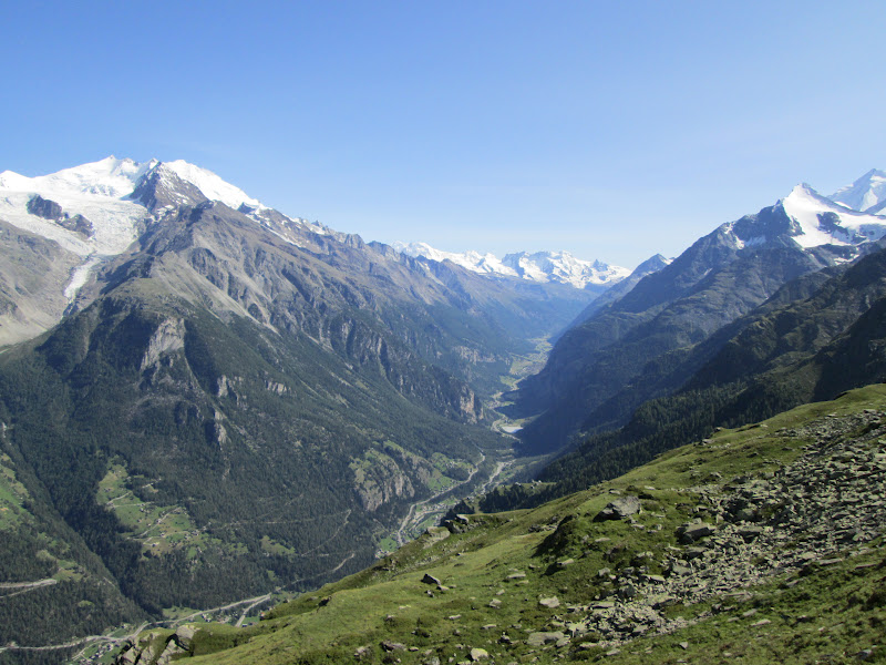 Heavy hiking walker 39 s haute route chamonix to zermatt for Haute route chamonix zermatt