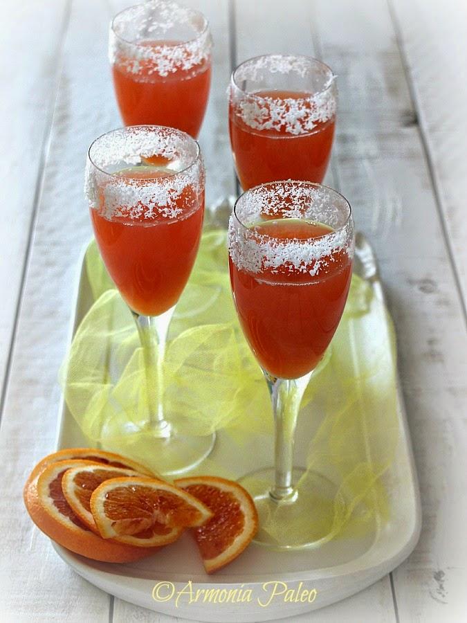 Cocktail Mimosa al Cocco di Armonia Paleo