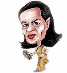 Sonia gandhi Cartoon