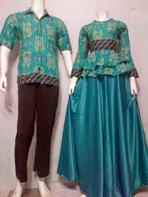 Model Baju Batik Songket