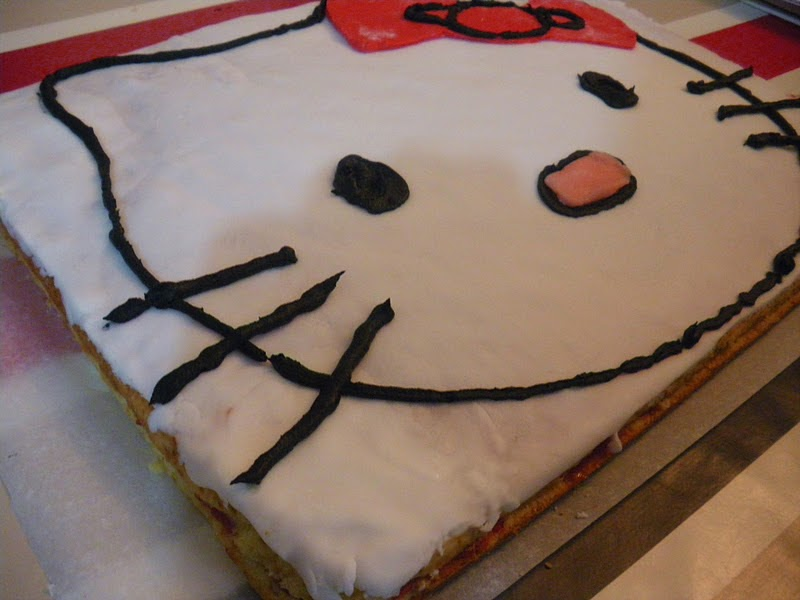 Decoration Gateau Anniversaire Hello Kitty : Image de gateau d anniversaire hello kitty