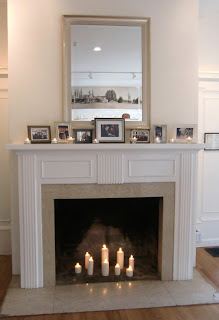 Clise Mansion - decorated fireplace  Photo by Patricia Stimac