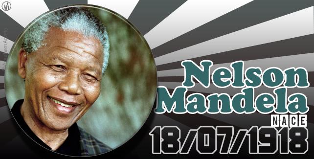 1918: nace Nelson Mandela