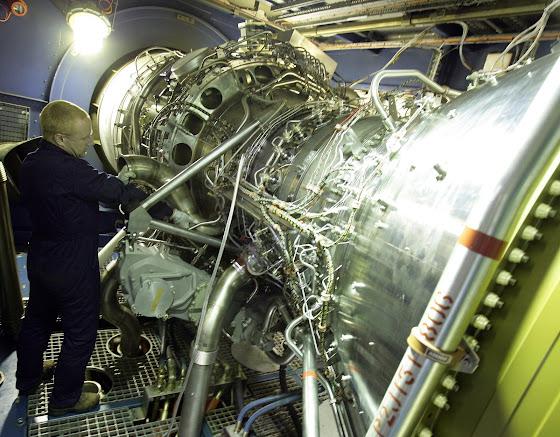 Rolls-Royce MT30 gas turbine
