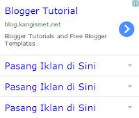 Membuat Iklan Seperti Google Adsense ala Kang Ismet
