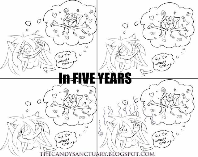 In five years comic