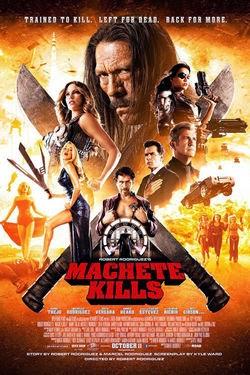 Machete Kills 2 2013 poster