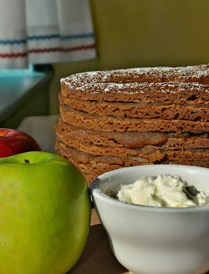 Apple Stack Cake from Early Girl Eatery