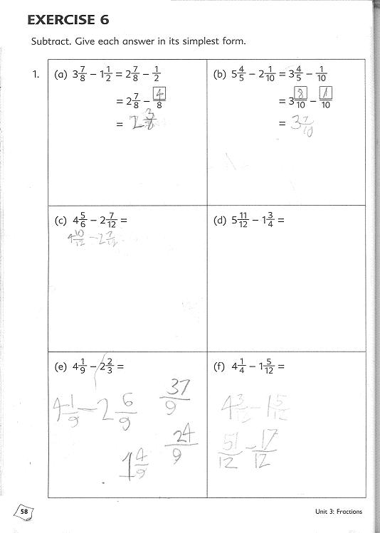 5th grade math homework help