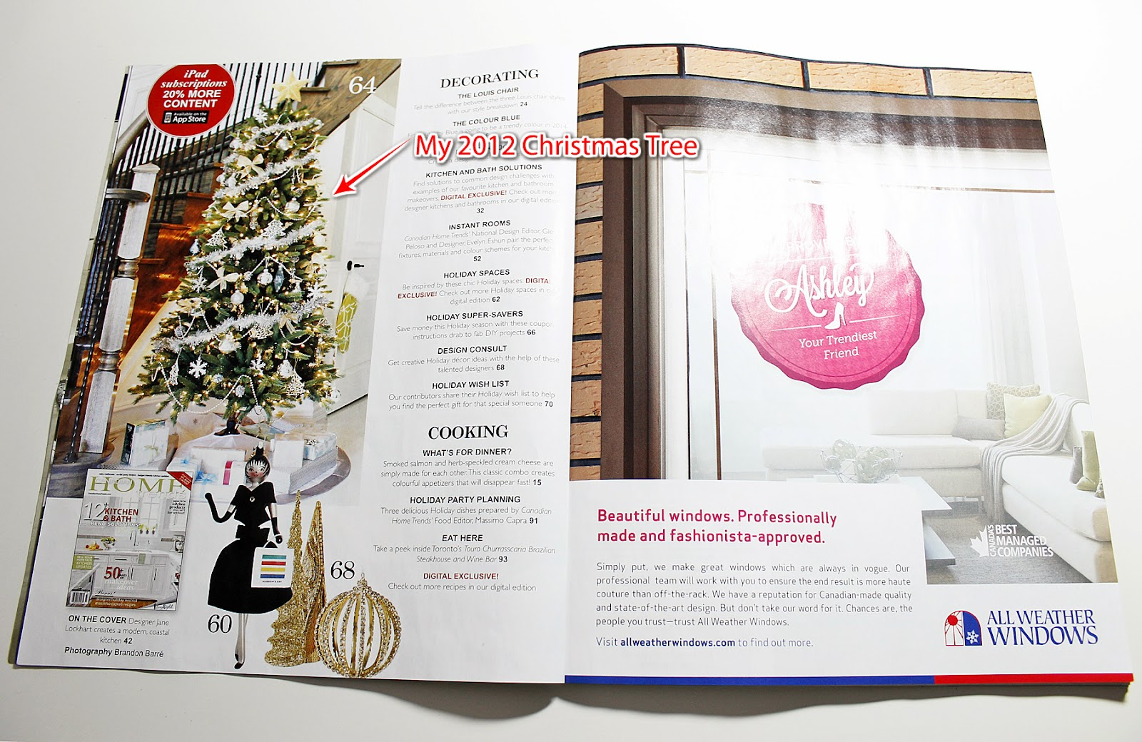 Am dolce vita magazine feature for Html table inside th