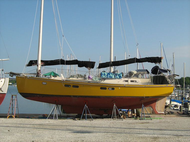 39' Ketch Disigned and built by Terrapin Boat works