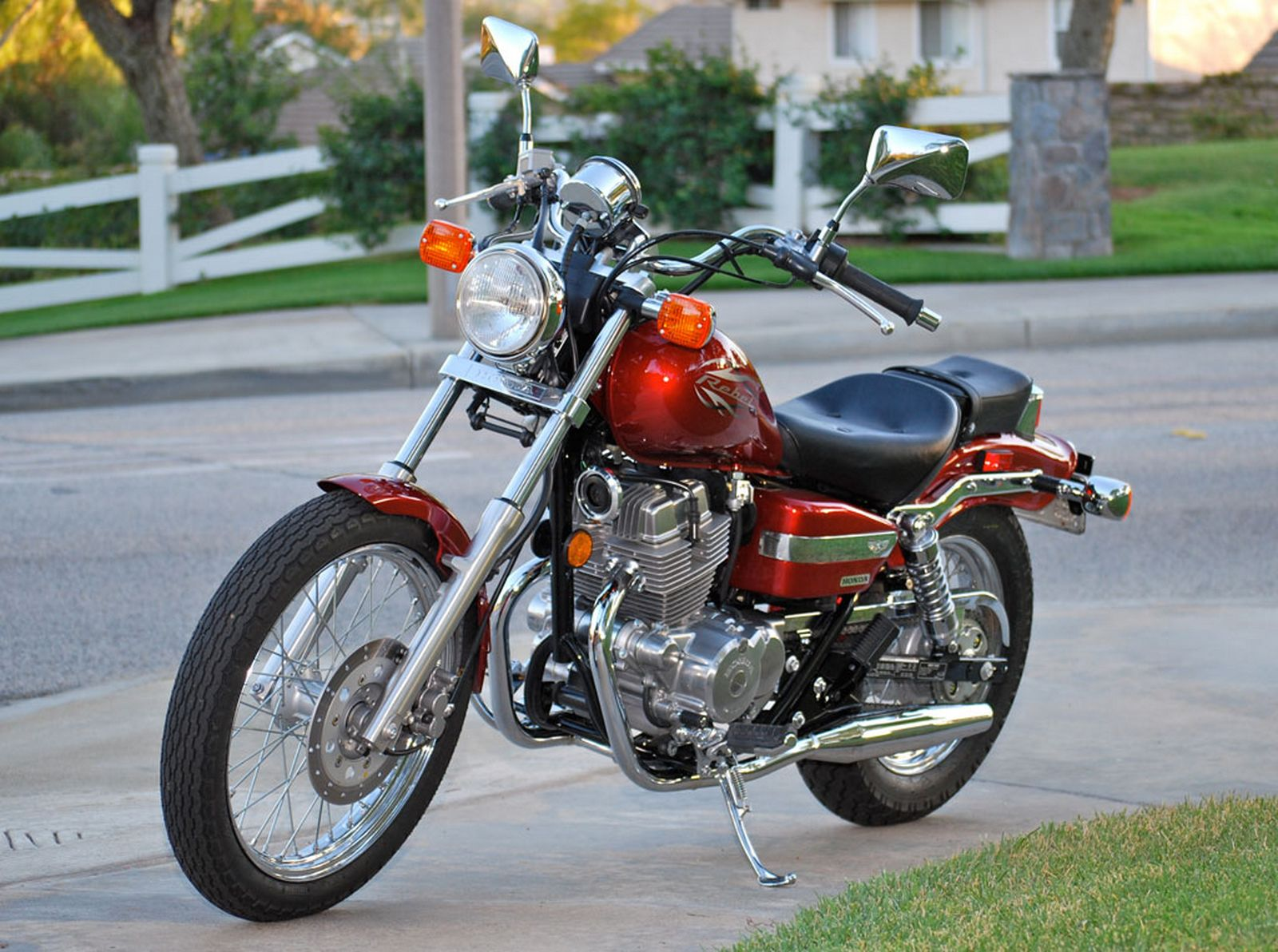 Great 2012 Honda Rebel 250 CMX250C Pictures