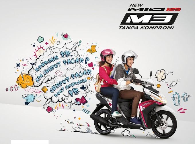 Mio M3 Sambut Tahun Baru dengan Warna dan Grafis Baru