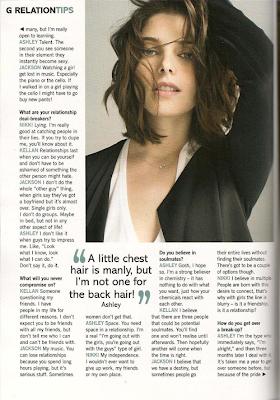 AshleyGreen Glamour Magazine Pics