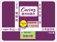 【Curves蘆洲徐匯店地圖】