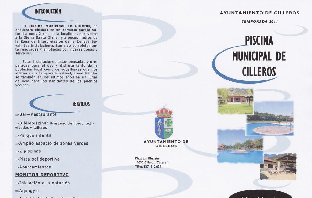 Cilleros ni m s ni menos normas piscina 2011 for Normas de piscina