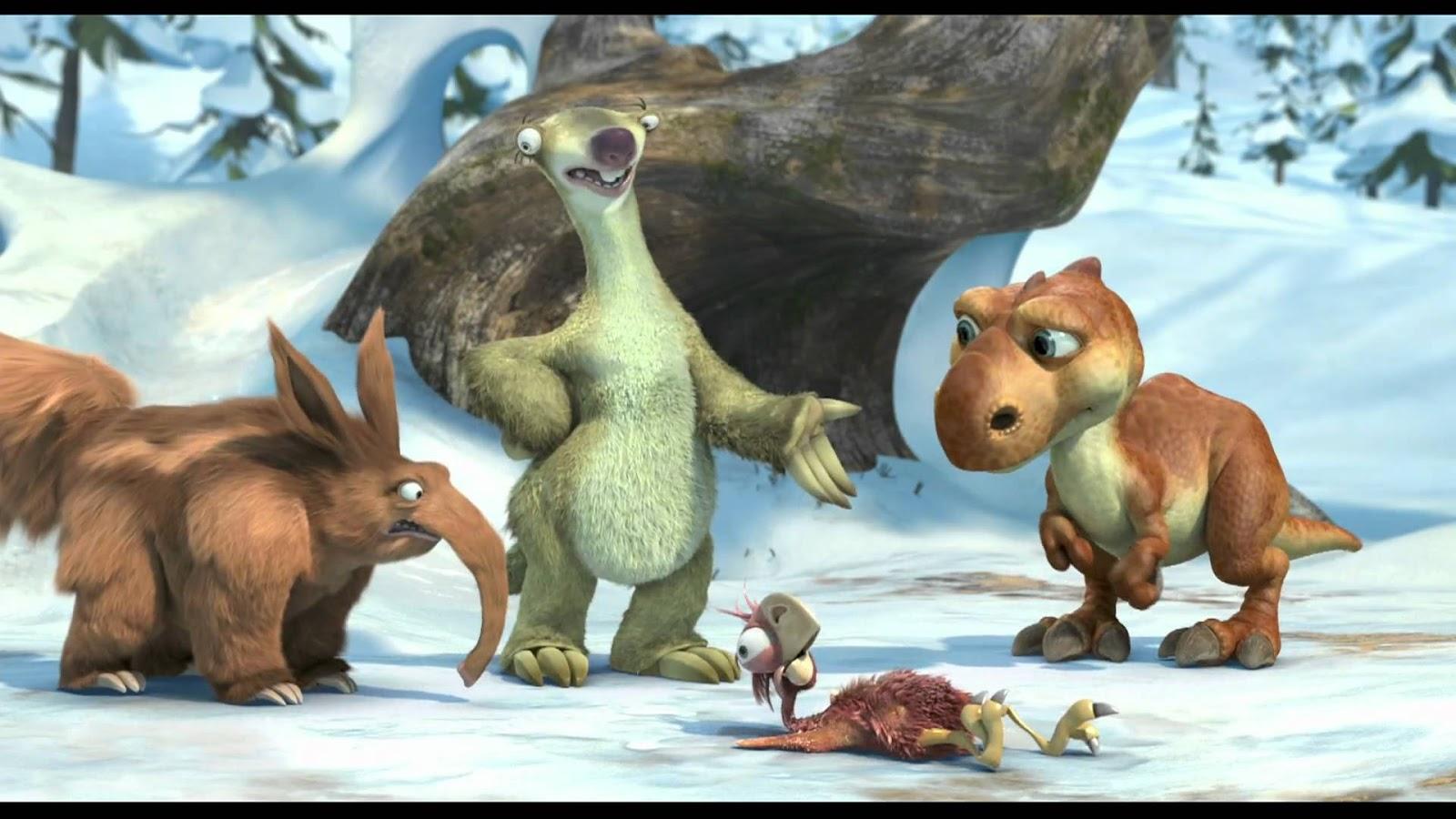 Megacerops ice age