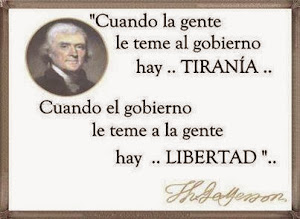 REFLEXIÓN DE THOMAS JEFFERSON