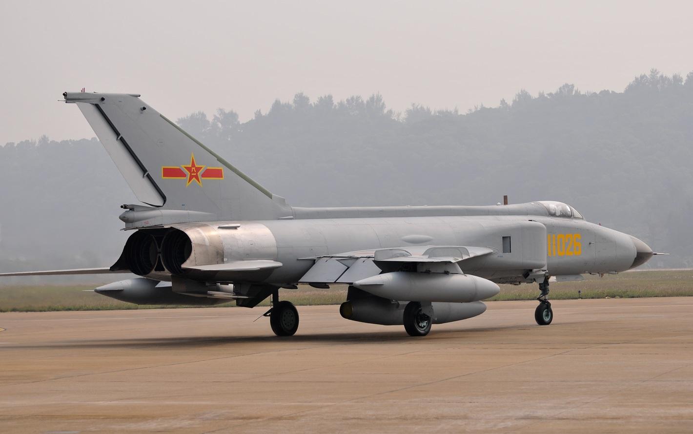 People's Liberation Army Air Force F-8II/J-8II Finback ...