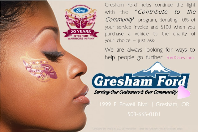 Contribute to the Community at Gresham Ford