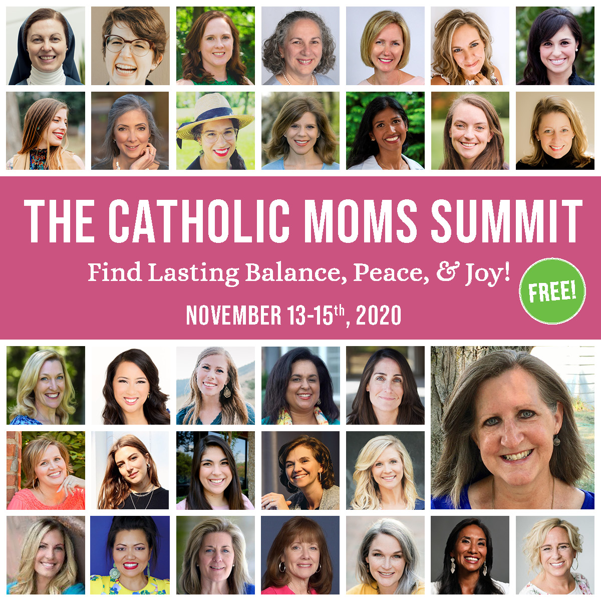 Join me for the (free!) Catholic Moms Summit!