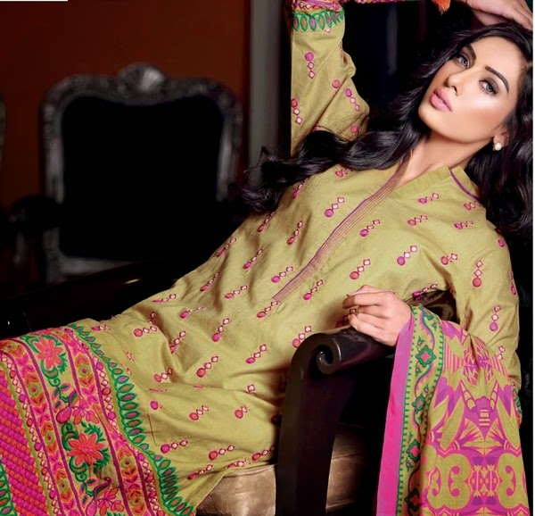 GulAhmed F/W Single Print Vol-1 2014-15