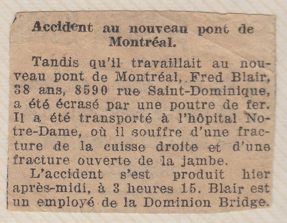La Presse Montreal newspaper clipping