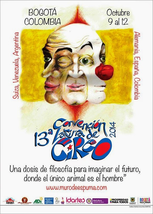 XIII Convención latina de circo en Bogotá