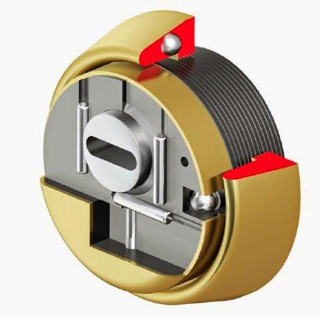 escudo de seguridad para bombillo de perfil europeo