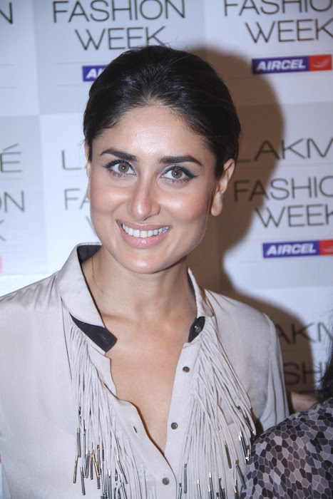kareena kapoorkaran johar at lfw 2012. actress pics