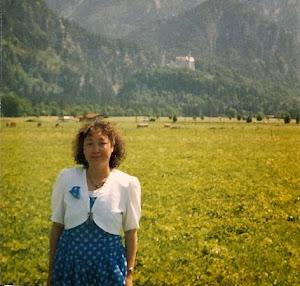 """1996年夏,去看童话国王路德维希二世的王宫""""新天鹅石"""",精湛瑰丽与童话般的设计,成为全世界独特的艺术之宝。(点击图像)"""