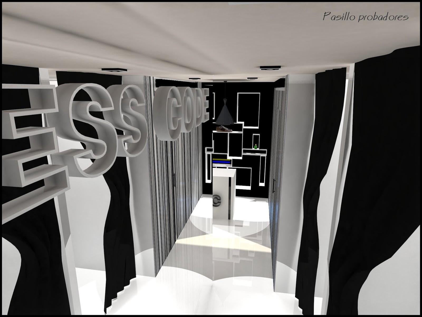 Dise o de interiores escuela de arte de motril tienda de for Probadores de ropa interior
