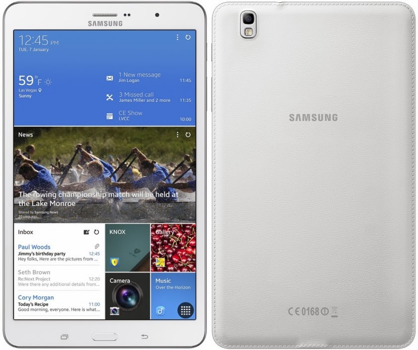 Samsung Galaxy TabPRO 8.4 missing features