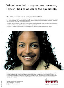 Face of Business Partners Ad Campaign
