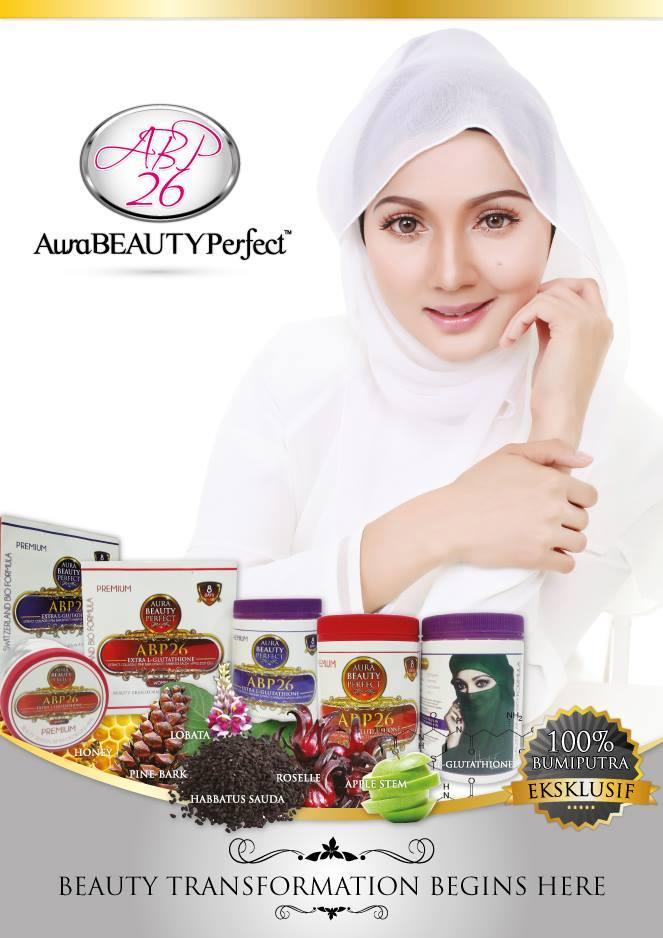 aura beauty perfect, abp26, produk kecantikan terbaik, produk kesihatan bagus, jana pendapatan online