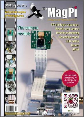 Free MagPi magazine Jul 2013